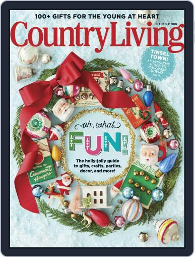 Country Living December 1st, 2018 Digital Back Issue Cover