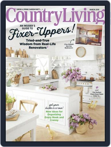Country Living March 1st, 2019 Digital Back Issue Cover