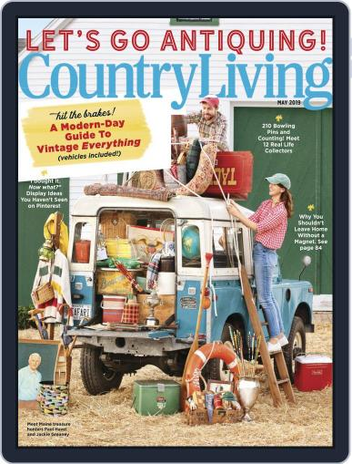 Country Living May 1st, 2019 Digital Back Issue Cover