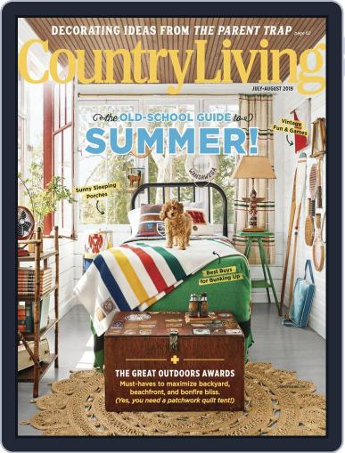 Country Living July 1st, 2019 Digital Back Issue Cover
