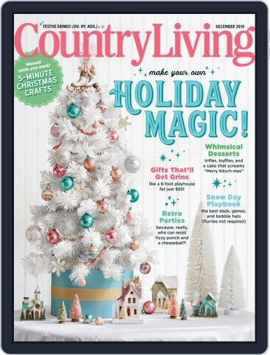 Country Living December 1st, 2019 Digital Back Issue Cover