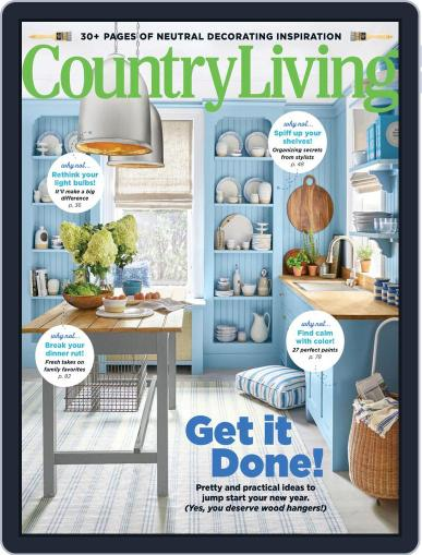 Country Living January 1st, 2020 Digital Back Issue Cover