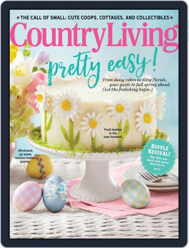 Country Living April 1st, 2020 Digital Back Issue Cover