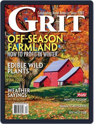 Grit November 1st, 2018 Digital Back Issue Cover