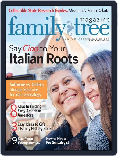Family Tree October 1st, 2017 Digital Back Issue Cover