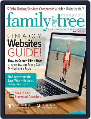Family Tree March 1st, 2018 Digital Back Issue Cover