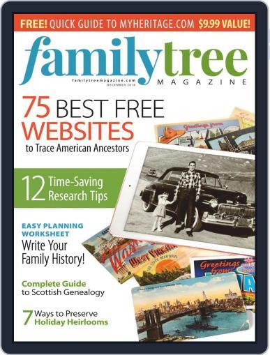 Family Tree December 1st, 2018 Digital Back Issue Cover