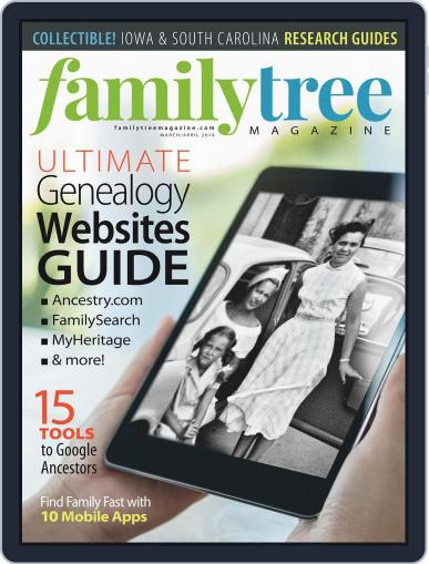 Family Tree March 1st, 2019 Digital Back Issue Cover