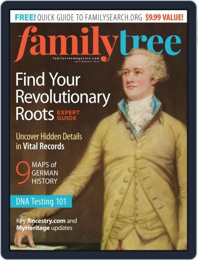 Family Tree July 1st, 2019 Digital Back Issue Cover