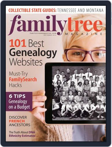 Family Tree September 1st, 2019 Digital Back Issue Cover