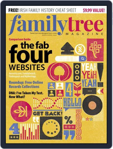 Family Tree March 1st, 2020 Digital Back Issue Cover