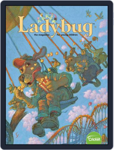 Ladybug Stories, Poems, And Songs Magazine For Young Kids And Children February 1st, 2019 Digital Back Issue Cover