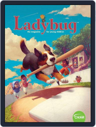 Ladybug Stories, Poems, And Songs Magazine For Young Kids And Children July 1st, 2019 Digital Back Issue Cover