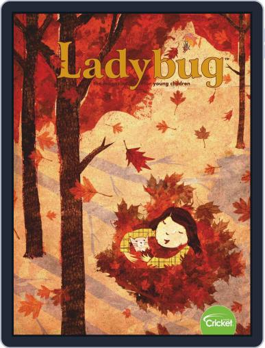 Ladybug Stories, Poems, And Songs Magazine For Young Kids And Children September 1st, 2019 Digital Back Issue Cover