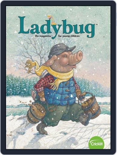Ladybug Stories, Poems, And Songs Magazine For Young Kids And Children February 1st, 2020 Digital Back Issue Cover