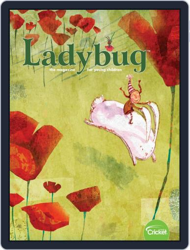 Ladybug Stories, Poems, And Songs Magazine For Young Kids And Children March 1st, 2020 Digital Back Issue Cover