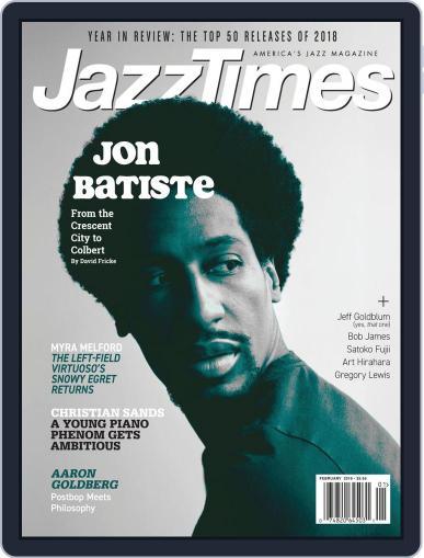 JazzTimes January 1st, 2019 Digital Back Issue Cover