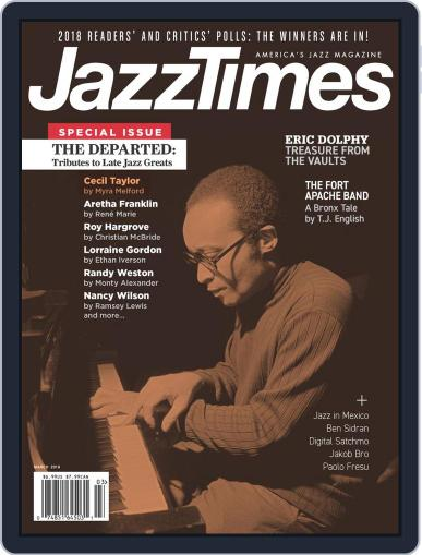 JazzTimes March 1st, 2019 Digital Back Issue Cover