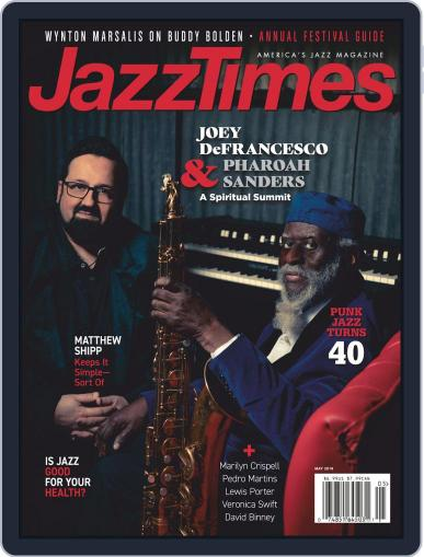 JazzTimes May 1st, 2019 Digital Back Issue Cover