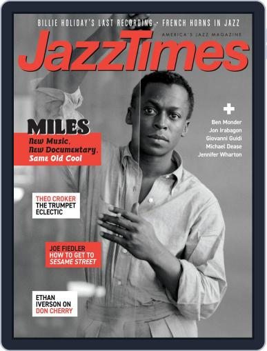 JazzTimes October 1st, 2019 Digital Back Issue Cover