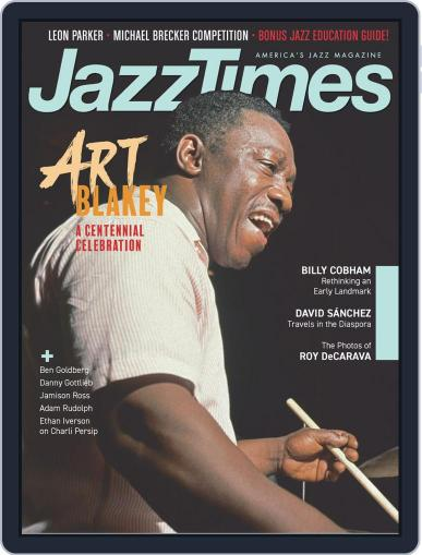 JazzTimes November 1st, 2019 Digital Back Issue Cover