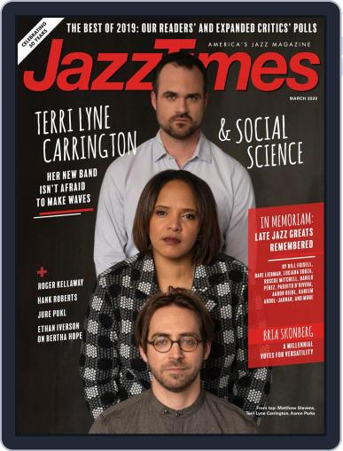 JazzTimes March 1st, 2020 Digital Back Issue Cover