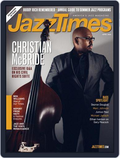 JazzTimes April 1st, 2020 Digital Back Issue Cover