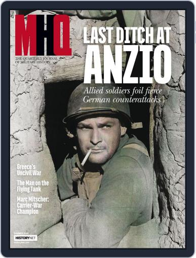 MHQ: The Quarterly Journal of Military History May 10th, 2016 Digital Back Issue Cover