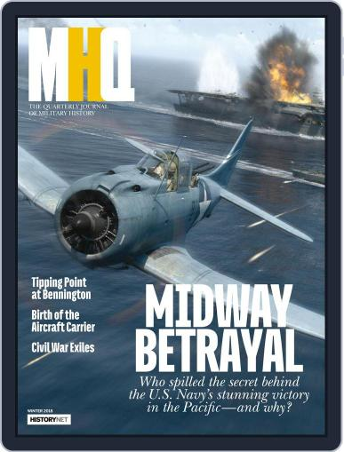 MHQ: The Quarterly Journal of Military History January 1st, 2018 Digital Back Issue Cover