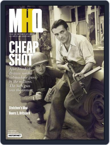 MHQ: The Quarterly Journal of Military History July 15th, 2019 Digital Back Issue Cover