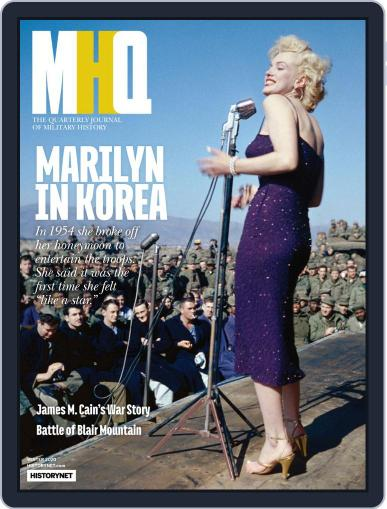 MHQ: The Quarterly Journal of Military History October 15th, 2019 Digital Back Issue Cover