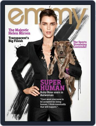 Emmy October 1st, 2019 Digital Back Issue Cover