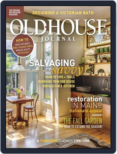 Old House Journal September 1st, 2018 Digital Back Issue Cover