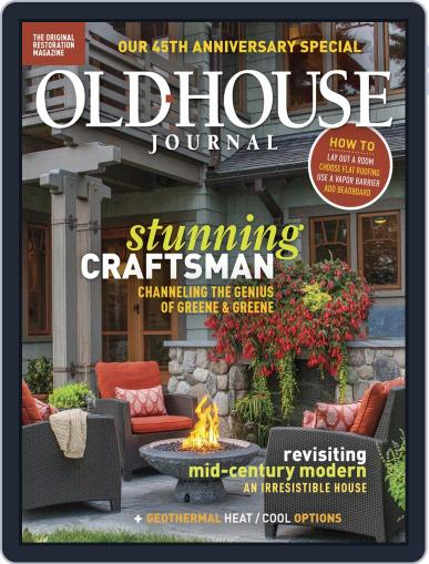 Old House Journal October 1st, 2018 Digital Back Issue Cover