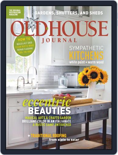 Old House Journal July 1st, 2019 Digital Back Issue Cover