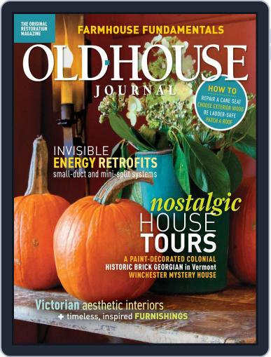 Old House Journal October 1st, 2019 Digital Back Issue Cover
