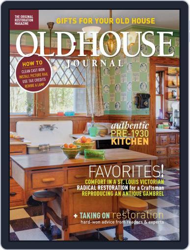 Old House Journal November 1st, 2019 Digital Back Issue Cover