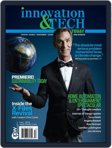 Innovation & Tech Today October 22nd, 2015 Digital Back Issue Cover