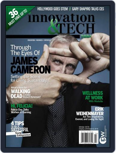 Innovation & Tech Today December 22nd, 2015 Digital Back Issue Cover