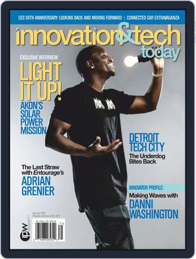 Innovation & Tech Today April 1st, 2017 Digital Back Issue Cover