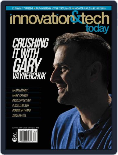 Innovation & Tech Today August 1st, 2018 Digital Back Issue Cover