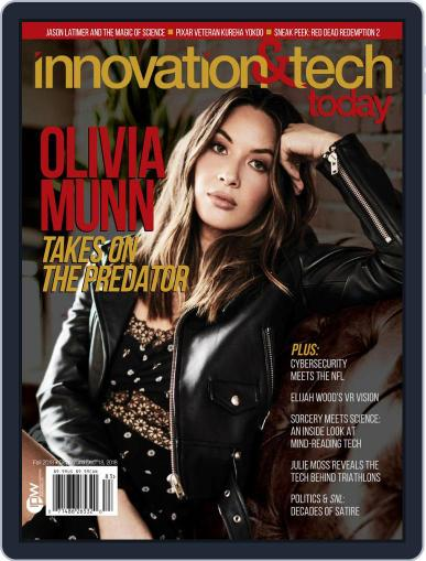 Innovation & Tech Today October 1st, 2018 Digital Back Issue Cover
