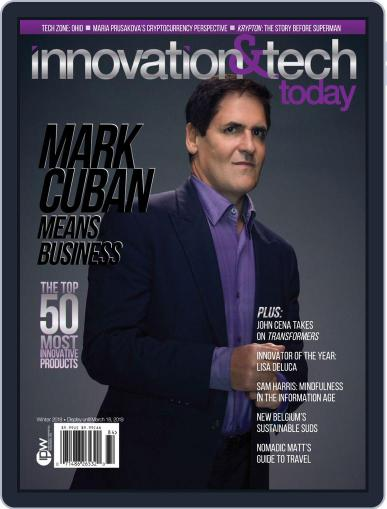 Innovation & Tech Today December 1st, 2018 Digital Back Issue Cover
