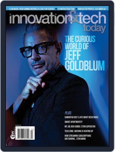 Innovation & Tech Today October 1st, 2019 Digital Back Issue Cover