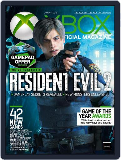 Official Xbox January 1st, 2019 Digital Back Issue Cover