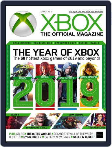 Official Xbox March 1st, 2019 Digital Back Issue Cover