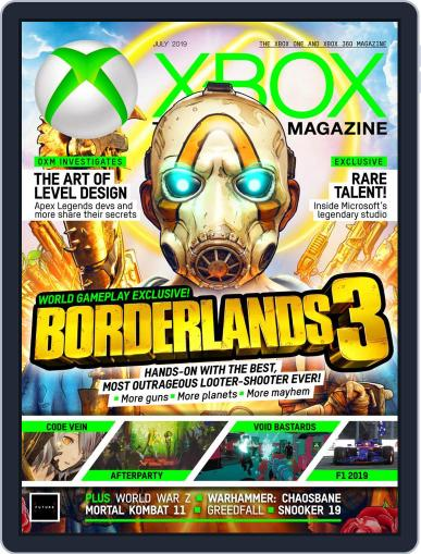 Official Xbox July 1st, 2019 Digital Back Issue Cover