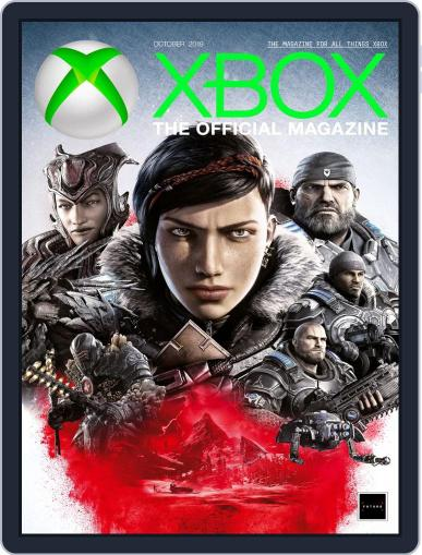Official Xbox October 1st, 2019 Digital Back Issue Cover