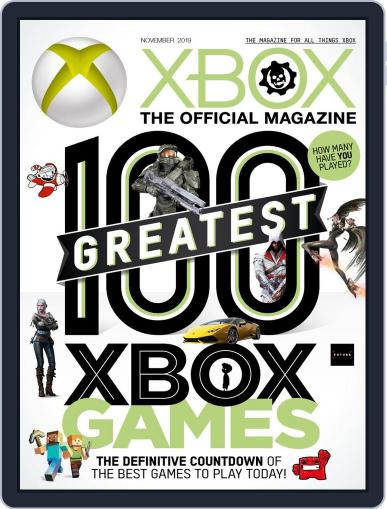 Official Xbox November 1st, 2019 Digital Back Issue Cover