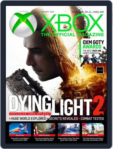 Official Xbox January 1st, 2020 Digital Back Issue Cover
